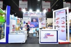 งานออกบูธ-บูธแสดงสินค้า-สยาม-คานาเดี่ยน-ฟู้ดส์-booth-THAIFEX-2019-03