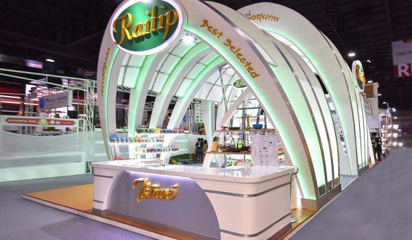 งานออกบูธ-บูธแสดงสินค้า-ไร่ทิพย์-booth-THAIFEX-2019